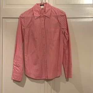 J Crew Factory, pink buttondown. Size S.